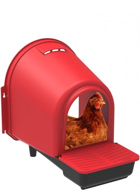 Nido per galline 1 foro in plastica - 2