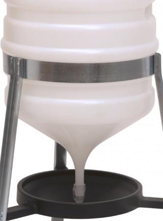 Abbeveratoio sifone lt.30 plastica