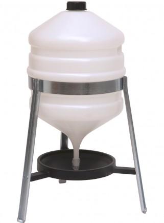 Abbeveratoio sifone lt.30 plastica - 1
