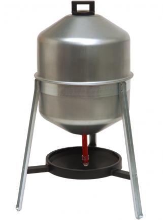 Siphon drinker lt. 30 in sheet metal - 1