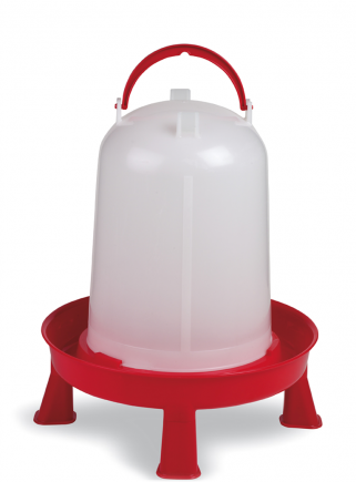 10 liter siphon drinker + support and handle - 1