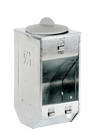 Feeder with 1 compartment + lid lid