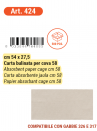 Bulinata paper for drawer cm.58 for breeding cage cm.58 - 3