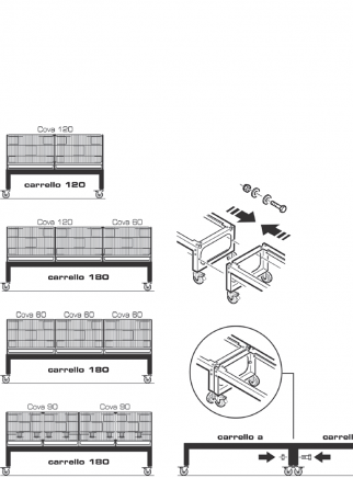 Trolley for breeding cage 60 -120 - 3