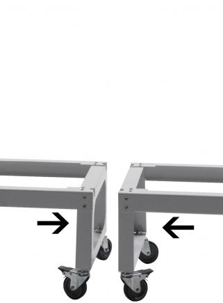Trolley for breeding cage 60 -120 - 4