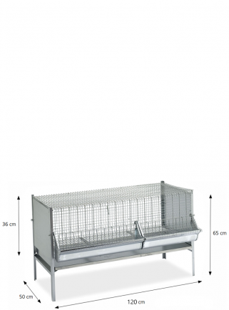 P2 weaning cage 120 cm
