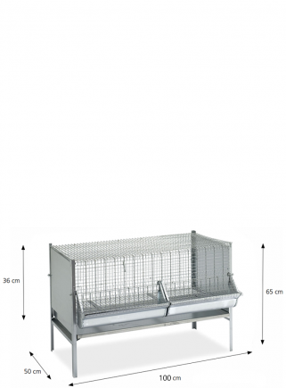 P1 weaning cage 100 cm