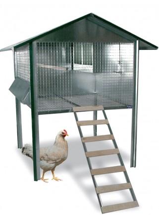 Gabbia pollaio rurale - 1