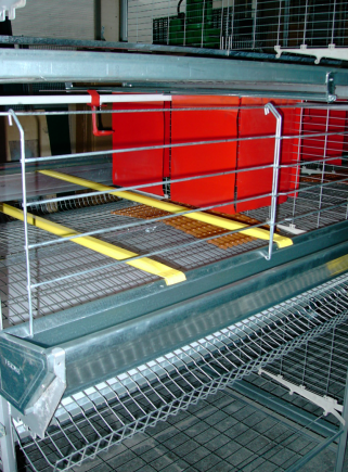 Battery for laying hens
