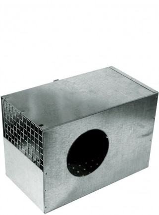 Nido interno gabbia con foro - 1