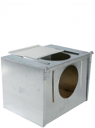 Nest with hole t / Sicilia for outside cage - 1