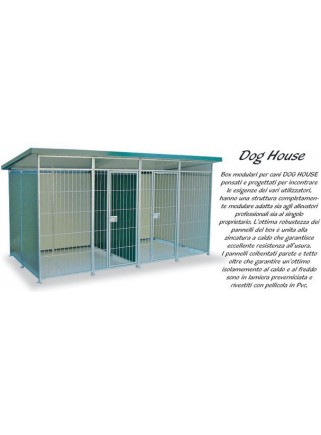 Pannello Box Dog cm.95x200 h.