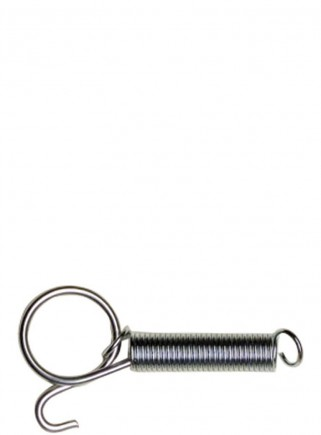 Spring with cage hook - 1