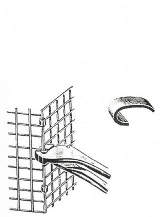 Galvanized clip