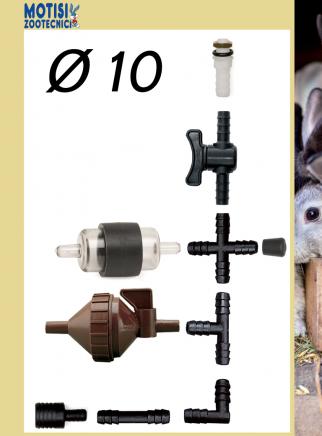 Filtro con rubinetto diam.mm.10 - 2