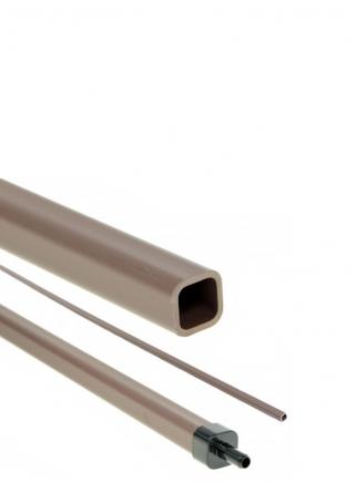 Raccordo testata tubo quadro uscita mm.10