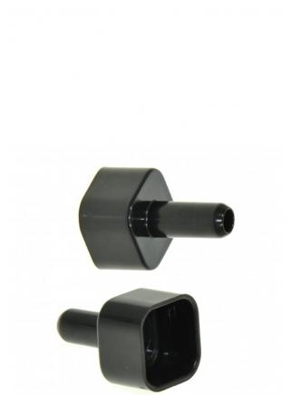 Raccordo testata tubo quadro uscita mm.10 - 1