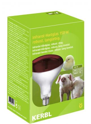 Lampada infrarossi watt 150