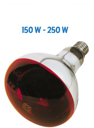 Lampada infrarossi watt 150 - 1