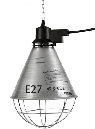 Riflettore in alluminio diametro cm.21 con cavo mt.2,5 - 1