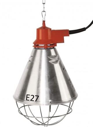 Riflettore in alluminio diametro cm.21 con variatore di potenza - 1