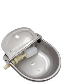 Stainless steel drinker for dogs, horses, sheep, etc. - 1