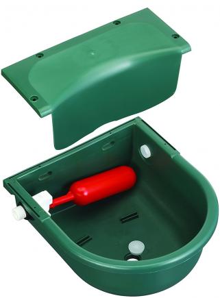 Automatic plastic drinker