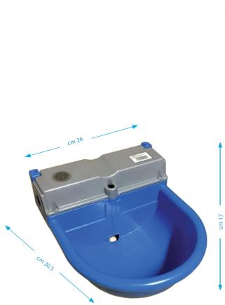 Abbeveratoio automatico in plastica Novital