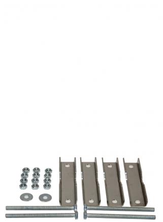 Placca fissaggio a palo art.50.040 - 1
