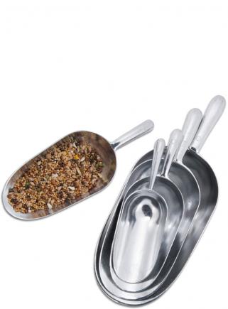 Aluminum scoop capacity 0.9 - 1 kg
