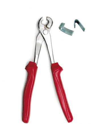 Pliers for closing staples - 1