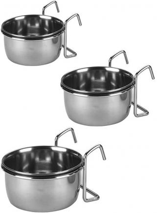 Mangiatoia acciaio con supporto cc..300 - 1