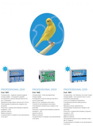 Professional 2200 digital programmer