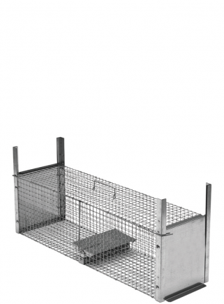Farmyard animal trap 85 cm two entrances - 1
