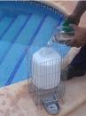 Abbeveratoio a livello costante in alluminio per cani con supporto e serbatoio da lt.8 - 3