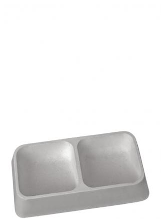 Double bite-proof concrete bowl - 1