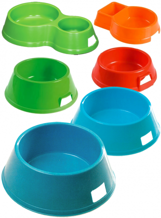 Ciotola plastica Alano cm.32-24 lt.3,2 - 1