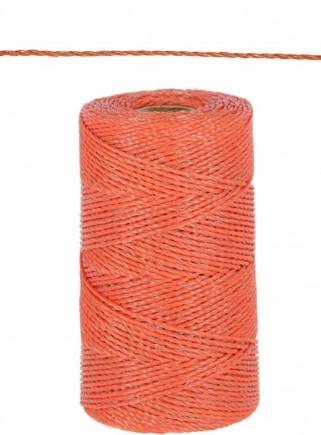 Filo elettropascolo BASIC arancio mt.250