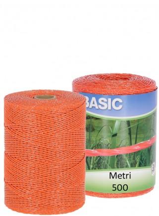 Filo elettropascolo BASIC arancio mt.500 - 1