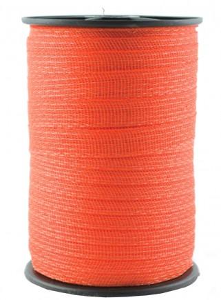 Banda arancione per recinzioni mm.40 x mt.200