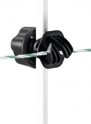 Isolatore filo corda Vario Plus per pali tubolari