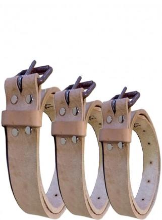 Collare cuoio BOVINI cm.4x110