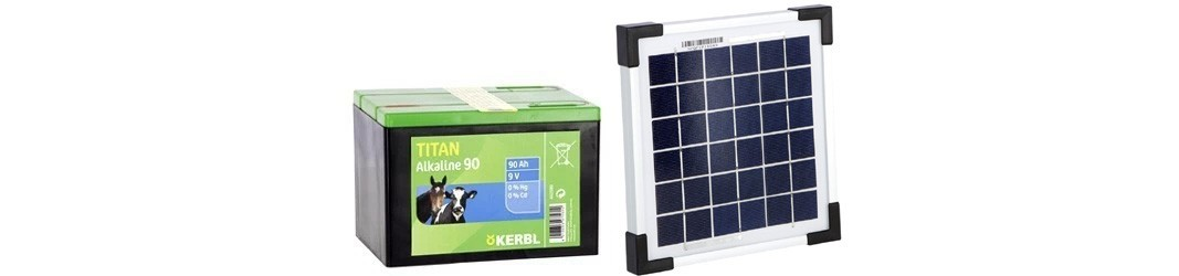 Batterie & Pannelli solari